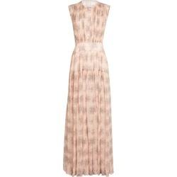 Chloé Silk Floral Print Pleated Dress found on Bargain Bro UK from harrods.com