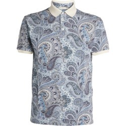 Etro Paisley Polo Shirt found on Bargain Bro UK from harrods.com