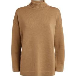 Max Mara Rollneck Wool Sweater found on Bargain Bro UK from harrods.com