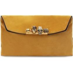 Alexander McQueen Four-Ring Skull Clutch Bag found on Bargain Bro UK from harrods.com