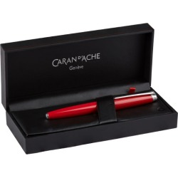 Caran d'Ache Léman Scarlet Red Ballpoint Pen found on Bargain Bro from harrods.com for £332