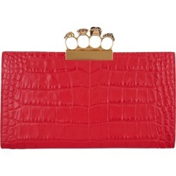Alexander McQueen Medium Jewelled Four-Ring Pouch found on Bargain Bro UK from harrods.com