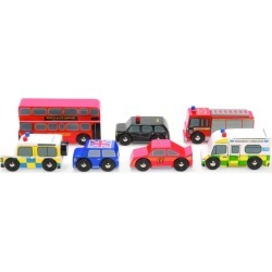 Le Toy Van The London Car Set found on Bargain Bro Philippines from Harrods Asia-Pacific for $26.07