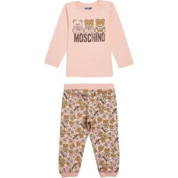 Moschino Kids Teddy Bear T-Shirt and Sweatpants Set (3-36 Months) found on Bargain Bro UK from harrods.com