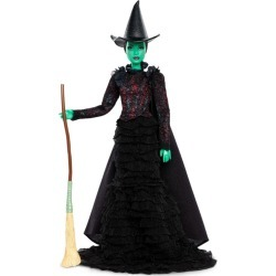 Barbie Wicked Elphaba Doll found on Bargain Bro UK from harrods.com