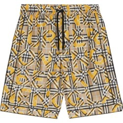 Burberry Check Print Silk Twill Shorts found on GamingScroll.com from Harrods Asia-Pacific for $1073.41