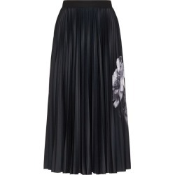 Valentino Floral Pleated Midi Skirt found on Bargain Bro UK from harrods.com