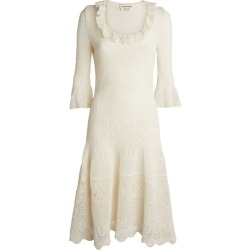 Alexander McQueen Knitted Lace Dress found on Bargain Bro UK from harrods.com