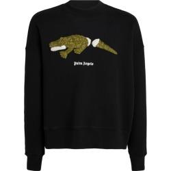 Palm Angels Crocodile Sweatshirt found on Bargain Bro UK from harrods.com