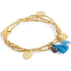 Ashiana Jewellery Gold-Plated and Semi-Precious Stone Gemini Bracelet found on MODAPINS from harrods.com for USD $56.36