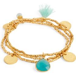 Ashiana Jewellery Gold-Plated and Semi-Precious Stone Gemini Bracelet found on MODAPINS from harrods.com for USD $58.70
