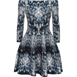 Alexander McQueen Crystal Jacquard Off-the-Shoulder Dress found on Bargain Bro UK from harrods.com