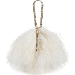 Jimmy Choo Callie Feather Clutch Bag found on Bargain Bro UK from harrods.com