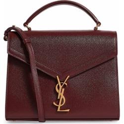Saint Laurent Medium Cassandra Top-Handle Grain De Poudre Shoulder Bag found on Bargain Bro from harrods (us) for USD $1,801.96