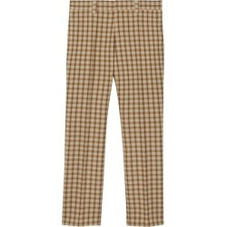 Burberry Wool Check Trousers found on Bargain Bro UK from harrods.com