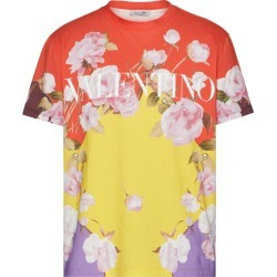 Valentino Floral Print Logo T-Shirt found on Bargain Bro UK from harrods.com