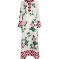 Dolce & Gabbana Rose Print Kaftan Dress found on Bargain Bro from harrods.com for £1860