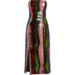 Halpern Striped Sequin Midi Dress found on MODAPINS from harrods (us) for USD $2121.00