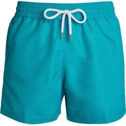 Frescobol Carioca Tonal Zigzag Swim Shorts found on Bargain Bro from Harrods Asia-Pacific for USD $146.32