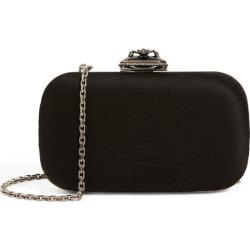 Alexander McQueen Satin Spider Buckle Clutch Bag found on Bargain Bro UK from harrods.com