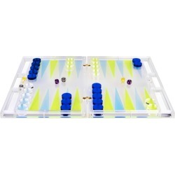 Daniel Chadwick Acrylic Backgammon Set found on Bargain Bro India from Harrods Asia-Pacific for $761.78