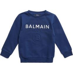 Balmain Kids Embossed Monogram Logo Sweatshirt (4-16 Years) found on Bargain Bro UK from harrods.com