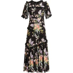 Needle & Thread Floral Diamond Elsa Midi Dress found on Bargain Bro from harrods.com for £352