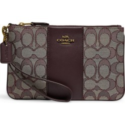 Coach Small Signature Jacquard Wristlet Purse found on GamingScroll.com from Harrods Asia-Pacific for $80.12