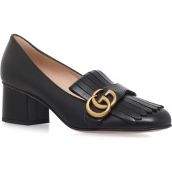 Gucci Leather Marmont Pumps 55 found on Bargain Bro UK from harrods.com
