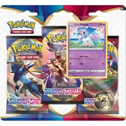 Pokemon Sword and Shield Triple Booster Pack found on Bargain Bro from harrods.com for £15