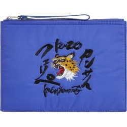 Kenzo Icon Tiger Zipped Pouch found on Bargain Bro UK from harrods.com