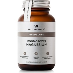 Wild Nutrition General Living Food-Grown Magnesium (60 Capsules) found on Bargain Bro UK from harrods.com