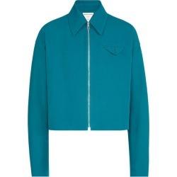 Bottega Veneta Cotton Zip-Up Jacket found on Bargain Bro UK from harrods.com