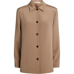 The Row Silk Alexis Shirt found on Bargain Bro India from harrods (us) for $2210.00