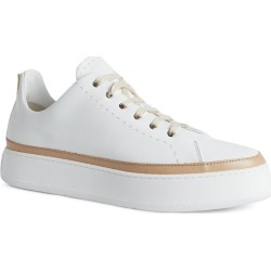 Max Mara Leather Platform Sneakers found on Bargain Bro UK from harrods.com