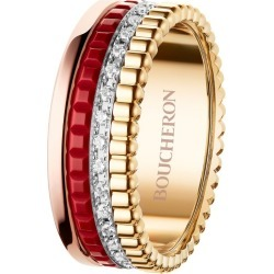 Boucheron Mixed Golds and Diamond Quatre Radiant Ring found on MODAPINS from harrods.com for USD $7329.53
