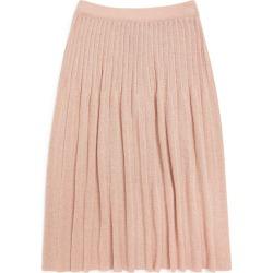 Emporio Armani Kids Lurex Pleated Midi Skirt (4-14 Years) found on Bargain Bro UK from harrods.com