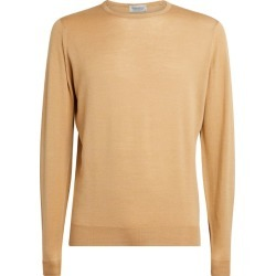 John Smedley Wool-Cotton Sweater found on MODAPINS from harrods.com for USD $232.86