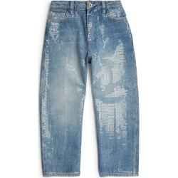Emporio Armani Kids Embellished Jeans (6-14 Years) found on Bargain Bro UK from harrods.com