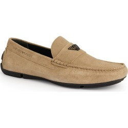 Emporio Armani Suede Driver Moccasins found on Bargain Bro UK from harrods.com