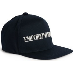 Emporio Armani Kids Logo Baseball Cap (4-14 Years) found on Bargain Bro UK from harrods.com