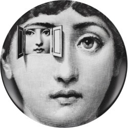 Fornasetti Tema E Variazioni Wall Plate (No. 116) found on MODAPINS from Harrods Asia-Pacific for USD $175.14