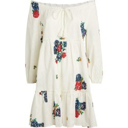 Tory Burch Floral Embroidered Dress found on Bargain Bro UK from harrods.com