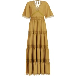 AllSaints Embroidered Eris Dress found on MODAPINS from harrods.com for USD $387.96