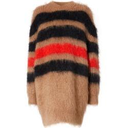 Burberry Stripe Intarsia Mohair-Silk Oversized Sweater found on Bargain Bro UK from harrods.com