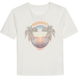 Sandro Paris Sunset T-Shirt found on Bargain Bro UK from harrods.com