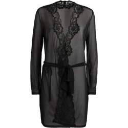 Myla Lace-Trim Mesh Robe found on MODAPINS from harrods.com for USD $254.38