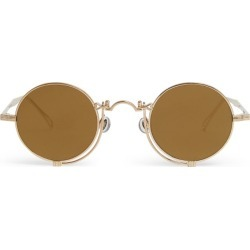 Matsuda Heritage Under-Eye Bar Round Sunglasses found on MODAPINS from harrods.com for USD $888.31