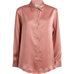 Asceno Silk London Pyjama Top found on MODAPINS from harrods.com for USD $300.64