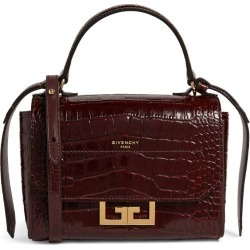 Givenchy Mini Croc-Embossed Leather Eden Cross-Body Bag found on Bargain Bro UK from harrods.com